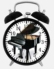 """Grand Piano Alarm Desk Clock 3.75"""" Home or Office Decor W159 Nice For Gift"""