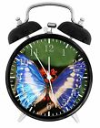 """Beautiful Butterfly Alarm Desk Clock 3.75"""" Room Office Decor W260 Nice For Gift"""