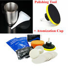 Set Car Headlight Refurbished Atomized Cup + Lens Restoration Polishing Tool Kit