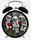 "Lego Star Wars Alarm Desk Clock 3.75"" Home or Office Decor W415 Nice For Gift"