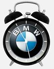 "BMW Alarm Desk Clock 3.75"" Home or Office Decor W429 Nice For Gift"