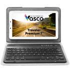 """Vasco Traveler Premium 7"""" + Keyboard: Voice Translator, GPS, Guide, Travel Phone"""
