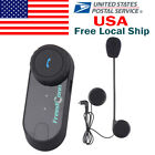 800M BT Interphone Bluetooth Motorbike Motorcycle Helmet Intercom Headset+FM US