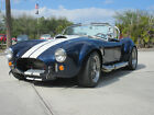 1965 Shelby Cobra Backdraft Roadster Backdraft Racing Roadster, 351W Ford Racing crate engine rated at 385 HP