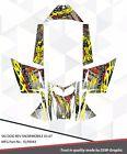 SLED WRAP GRAPHICS KIT DECAL STICKERS SKI-DOO REV MXZ SNOWMOBILE 03-7 ELP0043