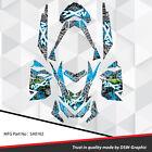 SKI-DOO XP MXZ SNOWMOBILE SLED WRAP GRAPHICS STICKER DECAL KIT 2008-2013 SA0102