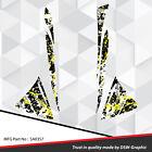 SLED WRAP GRAPHICS KIT DECAL STICKERS SKI-DOO REV MXZ SNOWMOBILE 03-07 SA0357