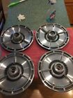 """1964 Chevrolet SS Spinner Hub Caps 14"""" Set 4 Chevy Wheel Covers Hubcaps 64 65 66"""