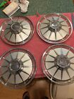 1962 Chevy Corvair  Hubcaps 13 Inch VERY NICE! Chevy 2  Monza