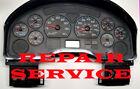 2004 INTERNATIONAL TRUCK MODEL 3200 INSTRUMENT CLUSTER GAUGE REPAIR SERVICE