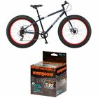 Mongoose Men's Dolomite Fat Boys Tire Cruiser Bike, Blue, 26 Inch And MG78253-6