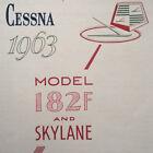 1963 Cessna 182F Owner's Manual