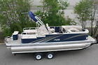 24 Tmltz Tritoon rear lounger pontoon boat----High quality