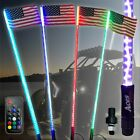 5ft LED Whip (20 Colors 200 Combinations) with Remote & American Flag Included