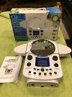 RARE NEW - CURTIS RS59A SHOWER RADIO STEREO CD PLAYER ALARM CLOCK MIRROR