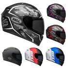 Bell - Qualifier DOT Race Helmet -DOT Rated Full Face Karting Motorcycle Street+