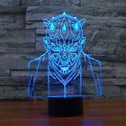 Desk Lamp 3D Vassal warrior Night Light 7 Color Change LED Table Lamp Xmas Toy