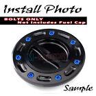 Dark Blue Billet CNC Gas Fuel Cap Bolts Fit CBF 1000 09-16 09 10 11 12 13 14 15
