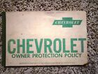 1960 Chevrolet Impala Bubble Top Factory GM Original Owners Protection Policy