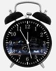 "Jeep Wrangler Off Road Alarm Desk Clock 3.75"" Home or Office Decor E281"