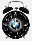 "BMW Alarm Desk Clock 3.75"" Home or Office Decor E296 Nice For Gift"