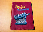1944 Ranger 6-440C Owner's Manual in English & Spanish