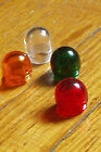 Vintage WHITE AMBER RED GREEN CLEAR Beehive lenses dash light DIALCO Mix-n-Match