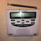 EXCELLENT MIDLAND S.A.M.E DIGITAL WEATHER ALL HAZARDS RADIO WR-120E