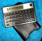 Vintage Original HP 12C Financial Calculator with Cover Hewlett Packard