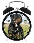 Rottweiler Alarm Desk Clock Home or Office Decor F92 Nice Gift