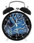 Detroit Lions Alarm Desk Clock Home or Office Decor F93 Nice Gift