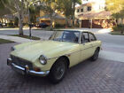 1969 MG  Vintage Primrose 1969 MGB GT Left Hand Drive Hardtop Very Good Condition