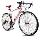 Merax Finiss Aluminum Road Bike 21 Speed 700C Racing Bicycle Shimano 58cm