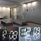 Modern Design Digital LED Table Night Wall Clock Watch 24/12-Hour Display Alarm