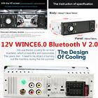 1-Din Bluetooth Car Radio 4.1 inch MP5 Player Stereo HD Screen FM Aux W/Remote