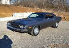 1973 Dodge Challenger 340 4SPD COUPE 1973 CHALLENGER RALLYE TRIM 340 4SPD SOLID METAL BEAUTIFUL DARK SILVER VERY NICE