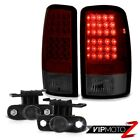 2000-2006 Chevy Suburban LT Smokey Red Bright LED Tail Lights Projector Tint Fog