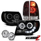 05-11 Tacoma 2.7L Tail lights headlamps sterling chrome fog lamps Crystal Lens
