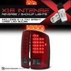 [CREE LED BACKUP] 2002-2006 Dodge Ram 1500 2500 3500 Wine Red L.E.D Tail Lights