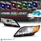 [Flashing Multi-Color Low Beam] 2007-2009 Toyota Camry Angel Eye Halo Headlights