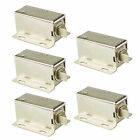 5X Mini Electric Lock Door Access Control Lock Small Bolt Cabinet Lock DC12V New