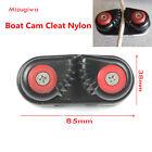 Mizugiwa Marine Nylon Fast Entry Cam Cleat for Line Rope Size Upto 5/8-Inch,16mm
