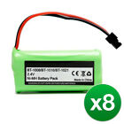 Replacement For Uniden BT1021 Cordless Phone Battery (700mAh, 2.4V, Ni-MH)8 Pack