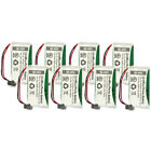 Battery for Uniden BT-1008 (8-Pack) Replacement Battery for Dect 6 0 2000