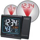 Projection Alarm Clock Indoor Outdoor Weather Temperature Display USB Charging
