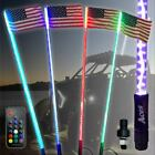 5ft Red White and Blue LED Whip with Quick Connect and 1 Year Warranty buggy