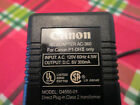 CANON AC/DC ADAPTER MODEL D4550-01 INPUT AC120V/60Hz/4.5W OUT DC6V/300mA