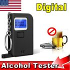 Mini Digital Alcohol Breath Tester Analyzer Measures Blood Alcohol LCD Display