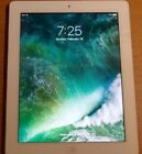 iPad 4 Verizon/AT&T White 16GB (MD525LL/A) wifi + Cellular  Model A1460 PREOWNED