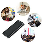 Spy Recording Device Voice Activated Recorder Mini USB Microphone Audio MP3 8GB